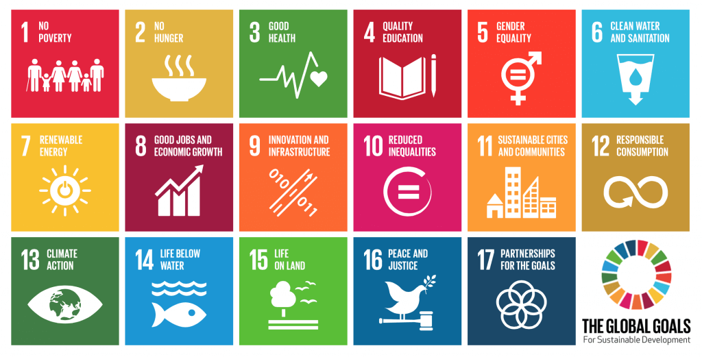 Chart of Sustainable Development Goals