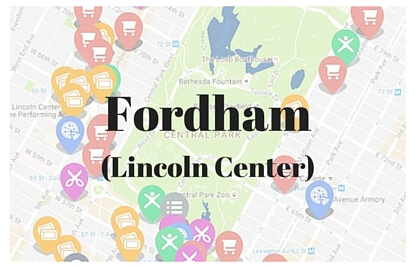 10 Great Student Deals Near Fordham University Lincoln Center