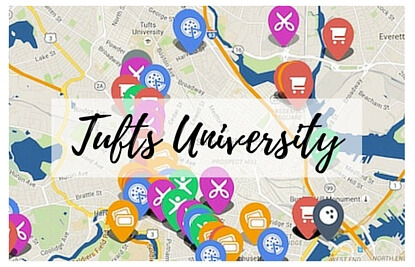 Tufts Medford Campus Map.10 Student Discounts Near Tufts University You Need To Know About