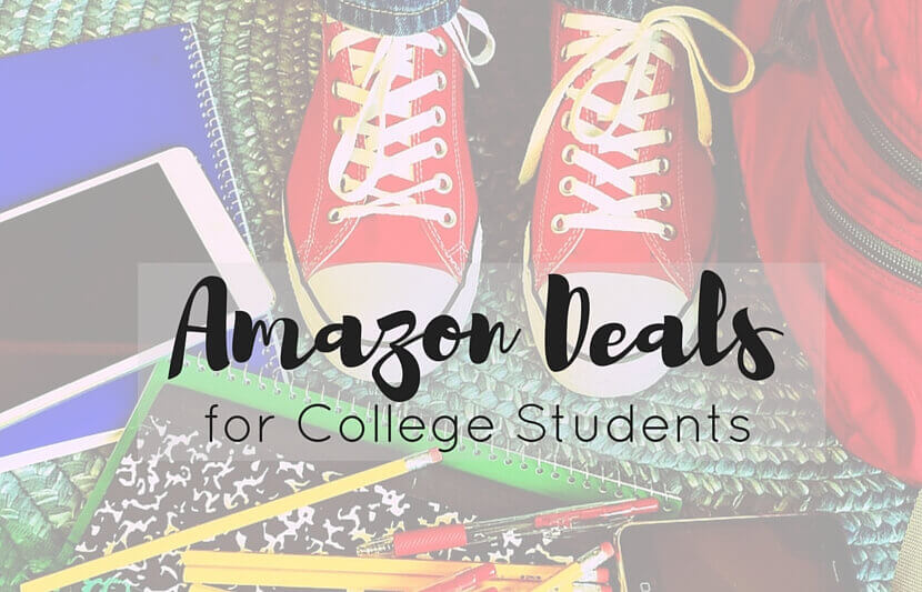 Amazon Deals For College Students The University Network