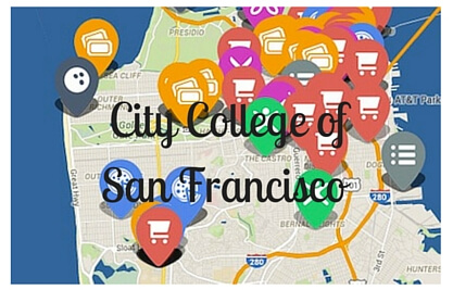 on city college of san francisco map