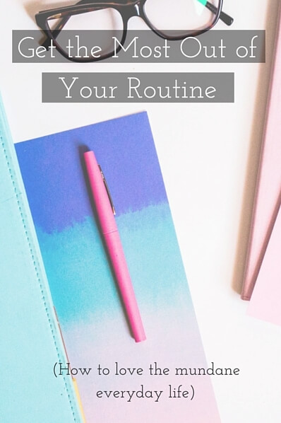 Daily Routine Pin