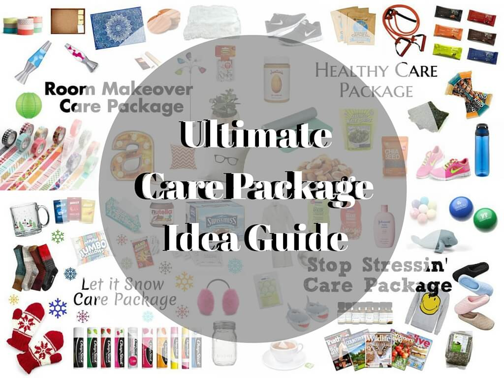 ultimate college care package idea guide | the university network