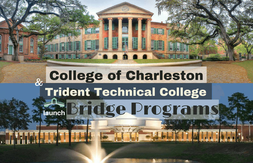 The College of Charleston in South Carolina is just one of the many  colleges in the country to launch a bridge program. Starting in the fall,  the Charleston ...