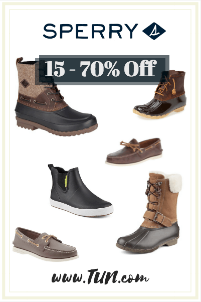 Sperry Student Discount and Best Deals