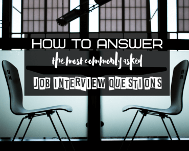how to answer most commonly asked job interview questions