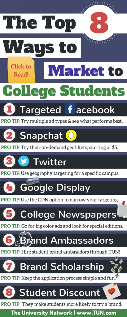 top sites for college students