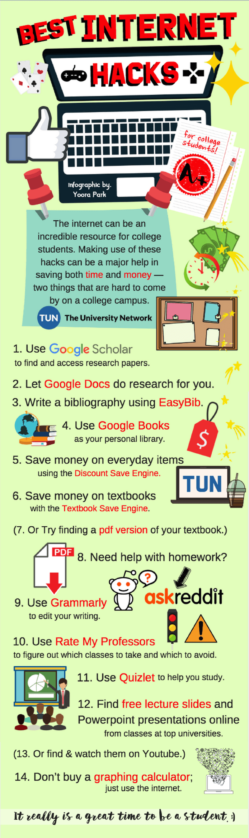 14 best internet hacks for college students the university network