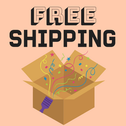 Free standard shipping on orders $50+, or $4.99 flat rate shipping