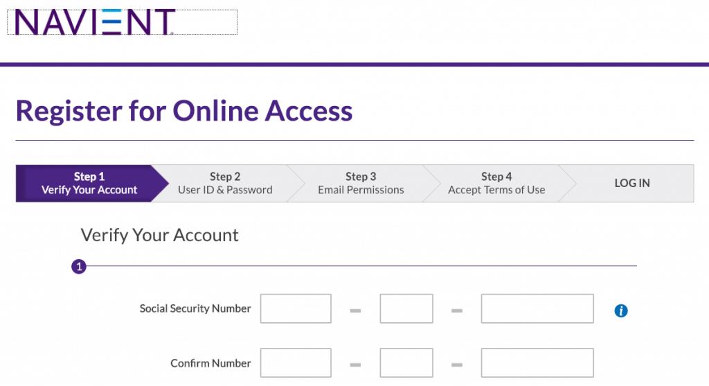 Navient Create an Account