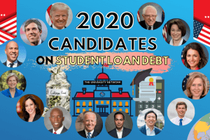 2020 Presidential Candidates on Student Loan Debt
