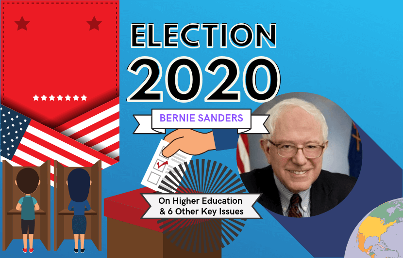 Student Stress Is Educations Overlooked >> Bernie Sanders 2020 On Higher Education And 6 Other Key Issues