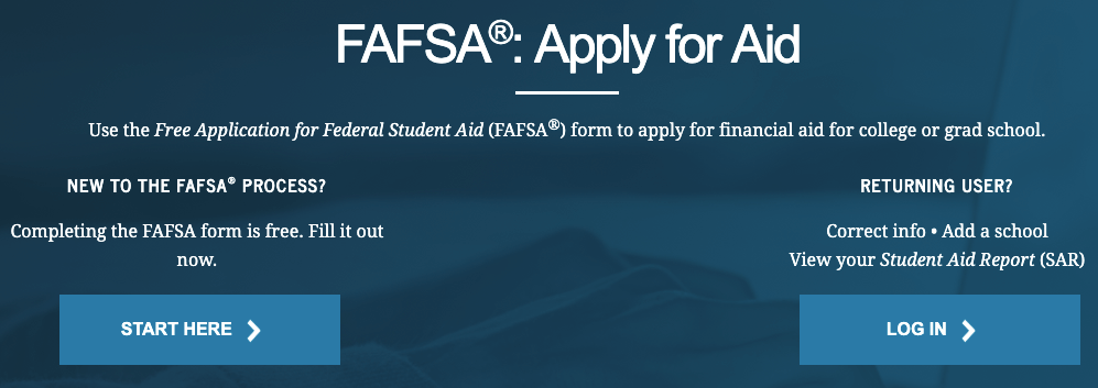 FAFSA: Apply for Aid