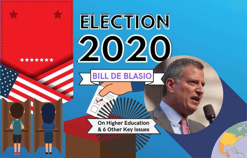 Bill De Blasio 2020