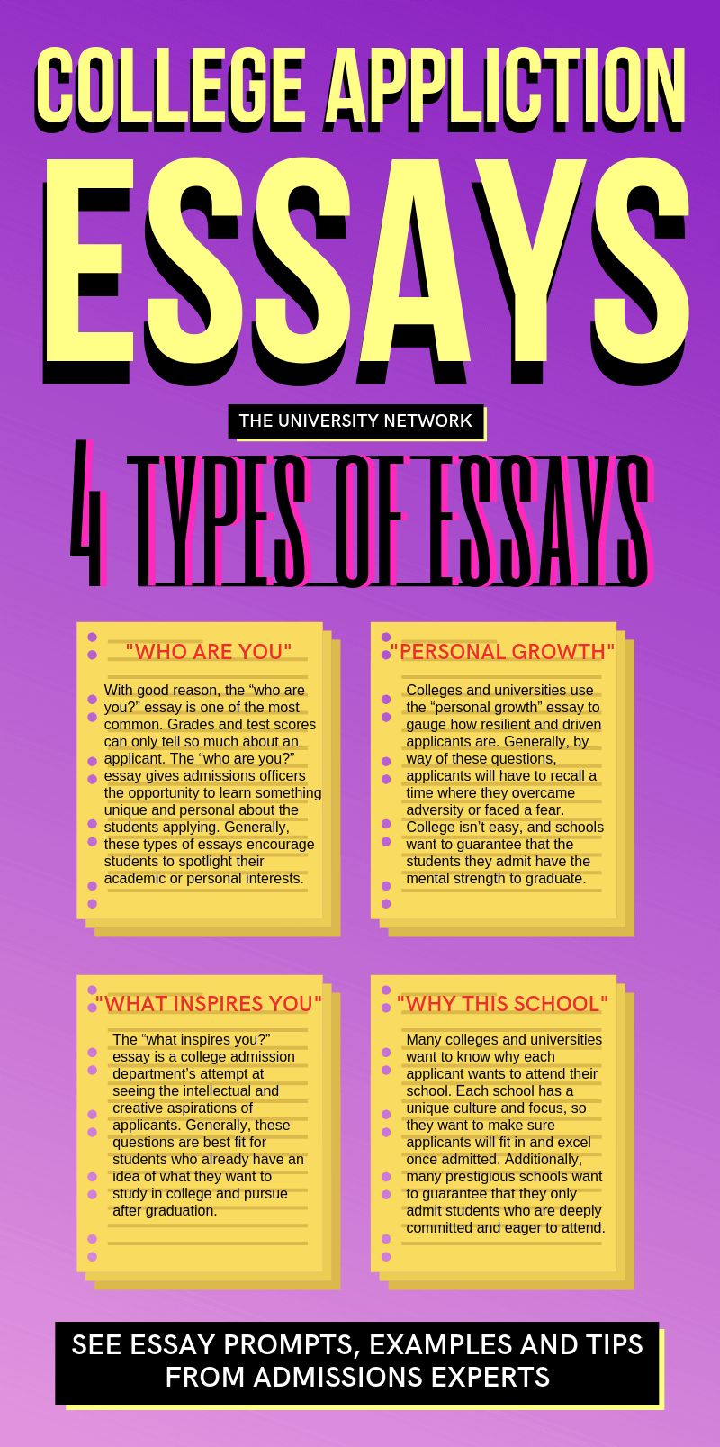 What Are Colleges Looking For In An Essay