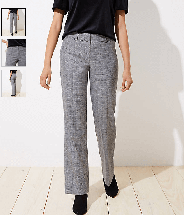 Pantaloni a quadri, LOFT