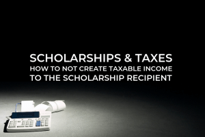 Scholarships & Taxes