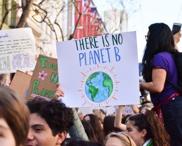 climate change college students 2020 election