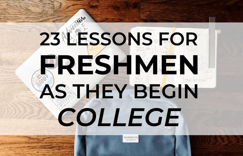 lecciones de primer año