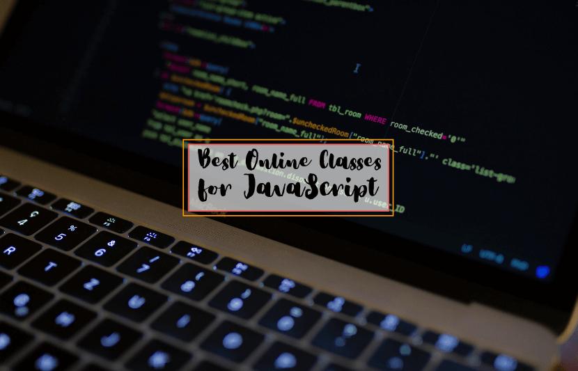 Best Online Classes for Javascript