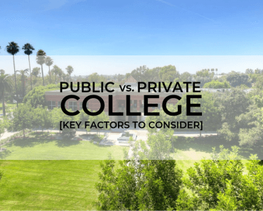 Public vs. Private College