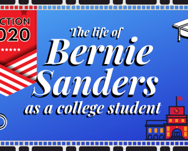 The Life of Bernie Sanders as a College Student