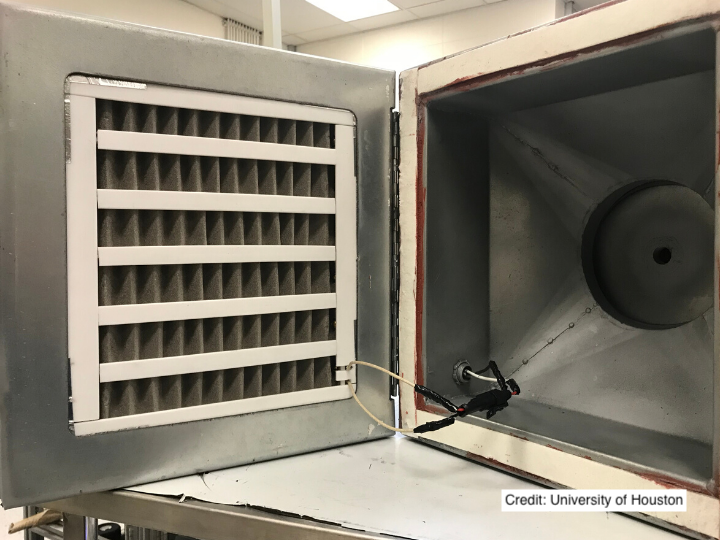 """Catch and kill"" air filter that can trap the virus responsible for COVID-19, killing it instantly – University of Houston"