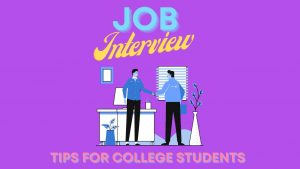 Job Interview Tips for College Students — Interview With Jia Wei Cao, Career Coach, Stony Brook University's Career Center
