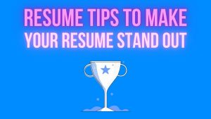 Resume Tips To Make Your Resume Stand Out — Interview With Katie Seitz, Career Coach, Stony Brook University's Career Center
