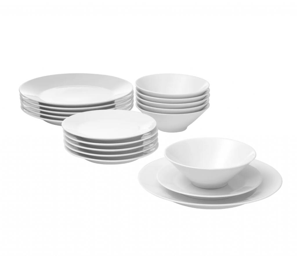 IKEA 365+ Servizio di piatti da 18 pezzi