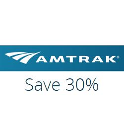 30% ปิดทางเดียวค่าโดยสารโค้ชกับ SmartFares แอมแทร็ใช้ได้ที่ Amtrak.com แต่ละอังคารถึงวันศุกร์