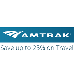 Up to 25% off with 14 days advance booking on Amtrak Northeast Regional - fares as low as $31