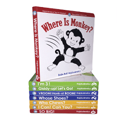 Save up to 20% on sale items, including board books and board books series!