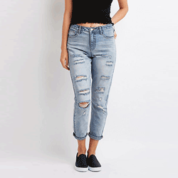Save up to 70% off jeans at Charlotte Russe. Great deals on skinny jeans, wide legged jeans, wide leg jeans, high waist jeans, mom jeans.