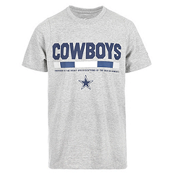 Save up to 75% on select Dallas Cowboys apparel and accessories for the entire family, including shirts, jerseys, hats and hoodies!