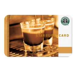 Up to 9% off Starbucks gift cards