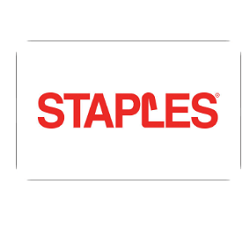 Up to 4% off Staples gift cards