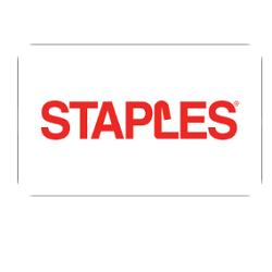 Bis zu 4% Rabatt auf Staples-Geschenkkarten