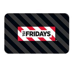 Bis zu 6% Rabatt auf TGI Fridays Geschenkkarten