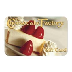 Bis zu 15% Rabatt auf die Geschenkkarten der Cheesecake Factory