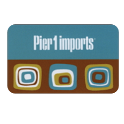 Up to 20% off Pier 1 gift cards