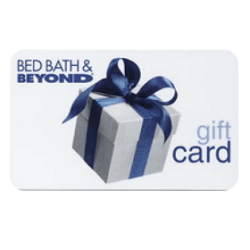 Up to 10% off Bed Bath & Beyond gift cards