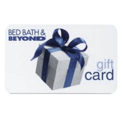 Bis zu 10% Rabatt auf Bed Bath & Beyond Geschenkkarten