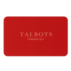 Up to 25% off Talbots gift cards