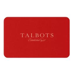 Bis zu 25% Rabatt auf Talbots Geschenkkarten