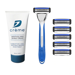 Save up to 50% on sale items, including razors, shaving kits, starter kits, cartridges, trial packs and shaving cream !