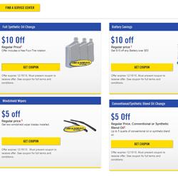 Risparmia $ 10 sul cambio dell'olio sintetico, batterie, ispezioni dei freni e allineamento computerizzato e $ 5 sul cambio dell'olio convenzionale!