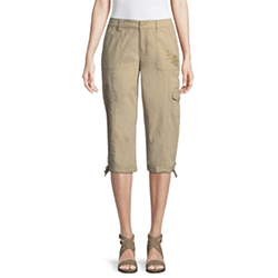 Save up to 80% off women's capris and cropped pants at JCPenney. Great deals on capri pants.