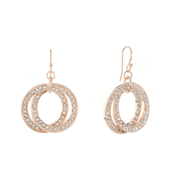 Save up to 70% off women's earrings at JCPenney