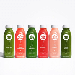 Save 20% on a 1 day JUS cleanse with 3 booster shots and free shipping